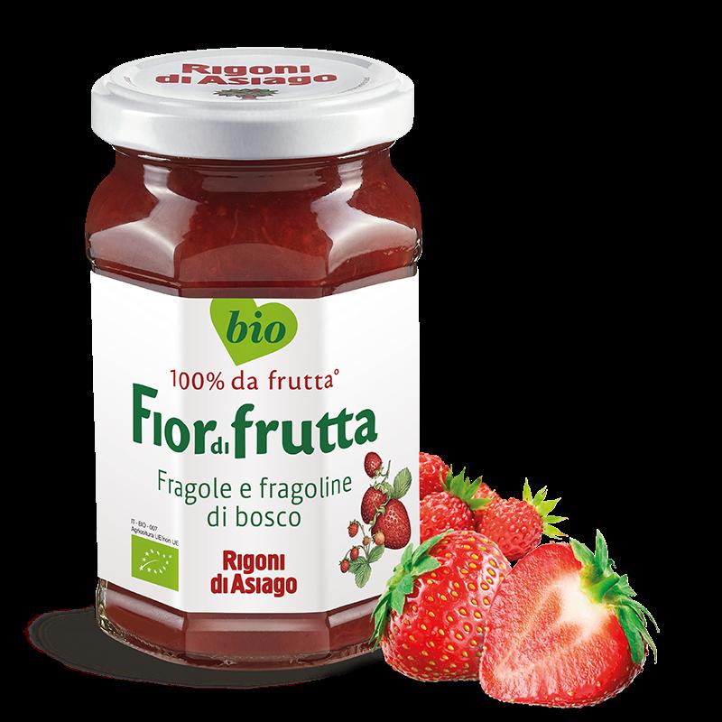 Fragole e fragoline di bosco