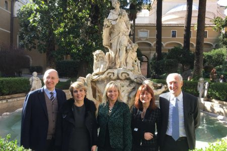 """Il restauro della fontana: """"Venezia sposa il mar"""""""