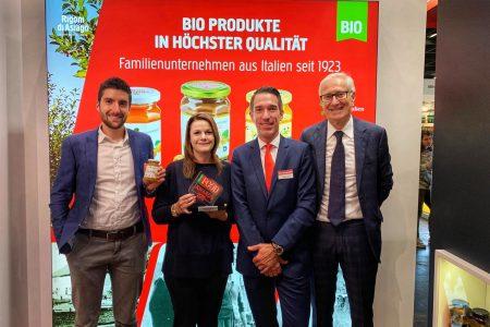 """Fiordifrutta Agrumi e Zenzero si aggiudica il premio """"ITALIAN FOOD AWARD""""."""