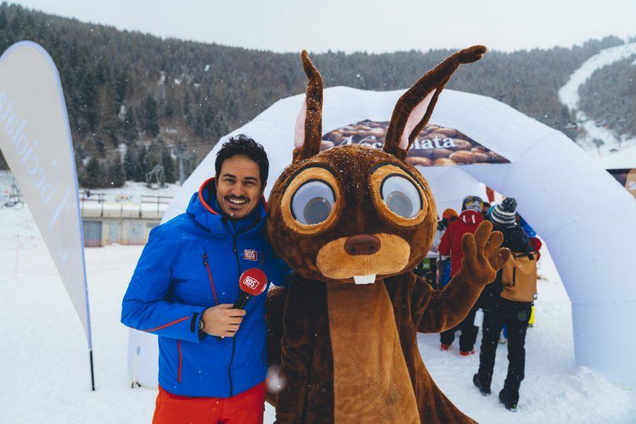 Nocciolata sulla neve con i tour di RDS e Radio DEEJAY